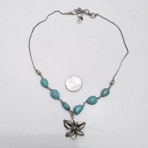 Lucky brand flower necklace